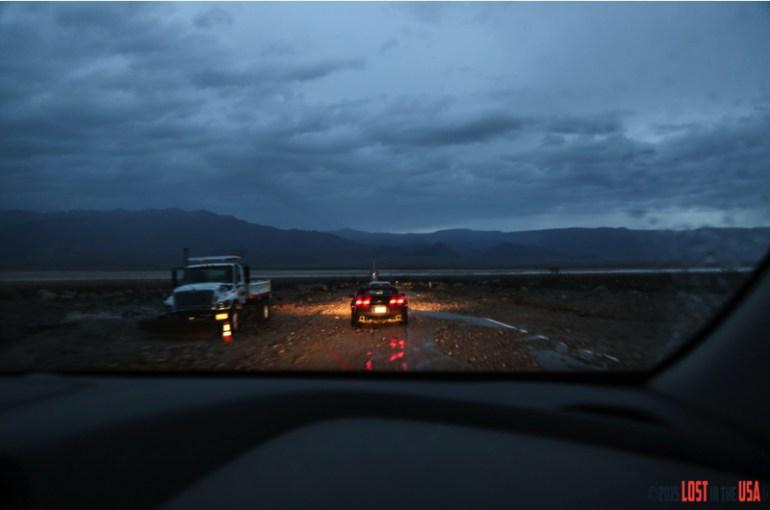 Death Valley inondée