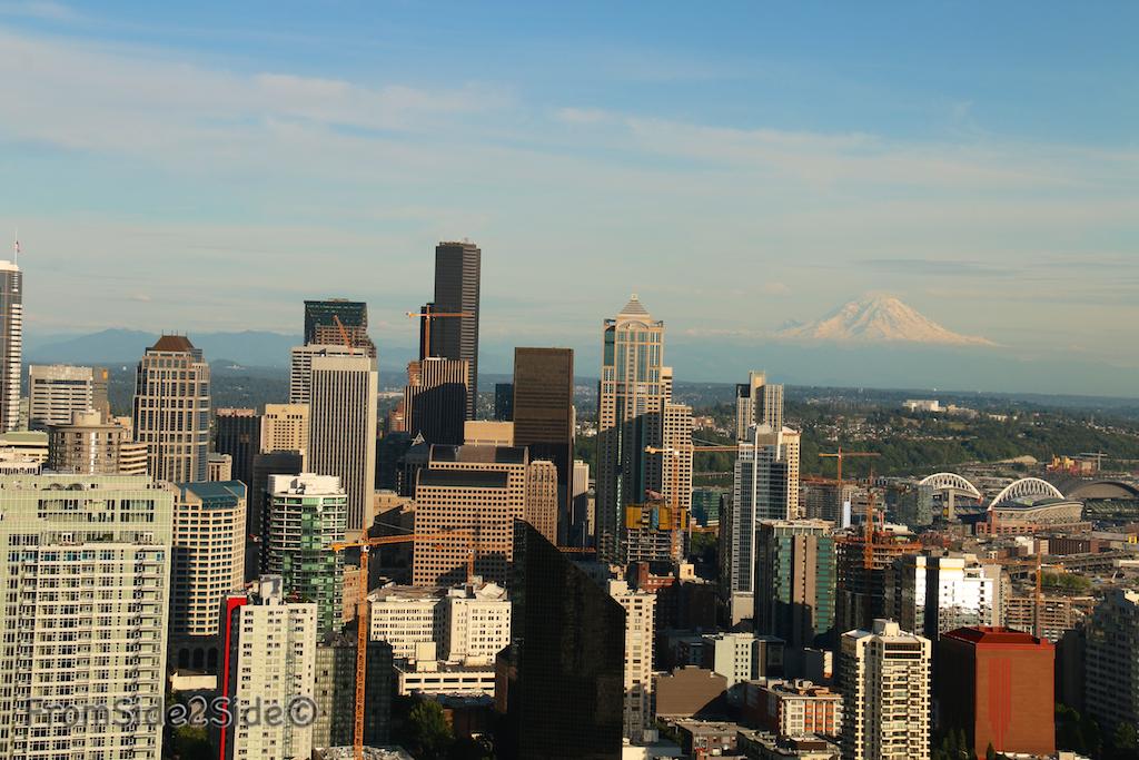 Seattle et le Mount Rainier