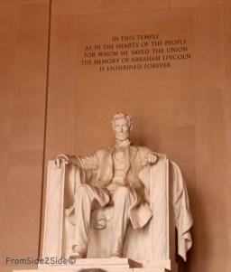 Lincoln Monument Washington DC