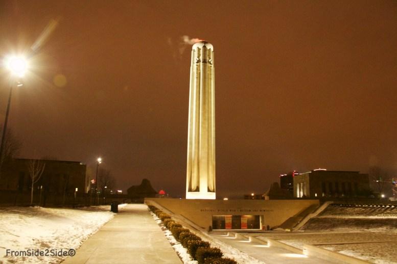Musée de la Première Guerre Mondiale - Esplanade et Mémorial