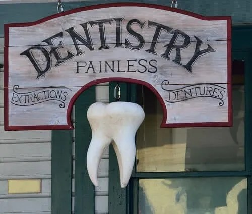 A Dentistry Sign Board