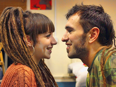 Irene Manzano y Carlos Martín - Españoles en Londres