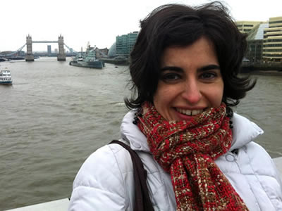 Laura García - Españoles en Londres