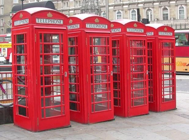 Cabinas telefónicas - Londres