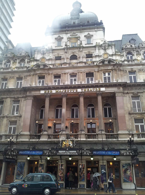 Her Majesty's Theater - London