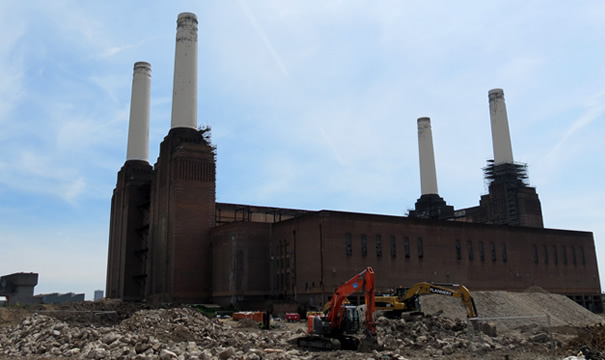 Battersea Power Station reconstruction