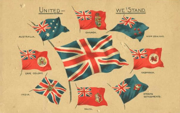 Banderas del Imperio Británico