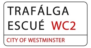 Señal Trafalgar Square