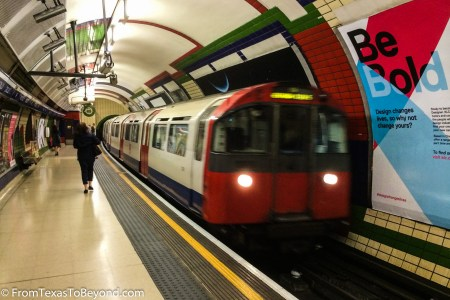 The Piccadilly Underground Line