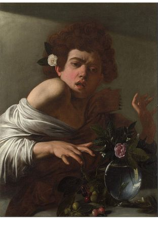 Caravaggio's Boy bitten by a Lizard - Courtesy of Wikipedia