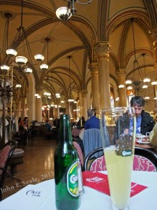 Café Central: The perfect historical place to have dinner in downtown Vienna