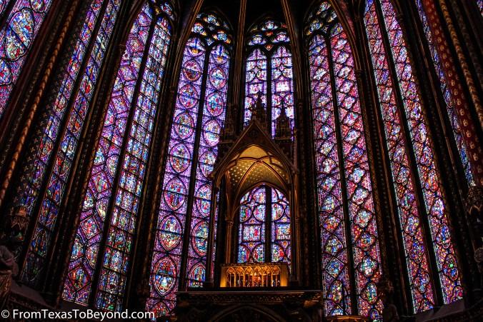 The Art Of Paris Stained Glass Windows Sainte Chapelle