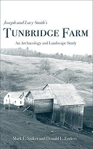 The book cover of 'Joseph and Lucy's Tunbridge Farm' showing an old photograph of a home and barn.