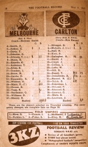 Footy Record Stats