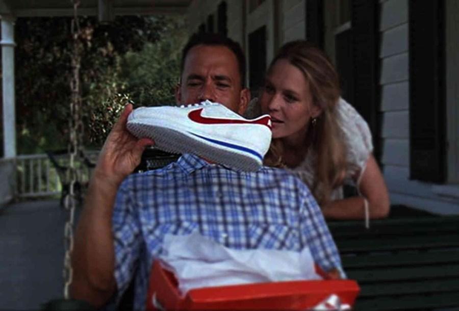 Running shoes Forrest Gump (1994)