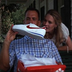 Running shoes Forrest Gump (1994)