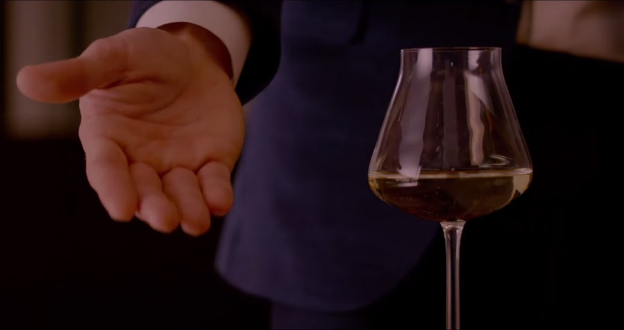 Wine glass Fifty Shades of Grey (2015)