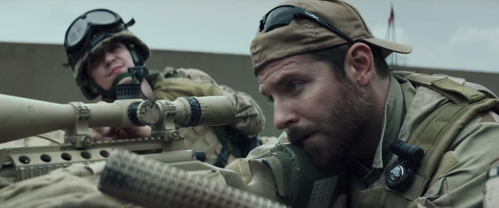 Wiley X sunglasses in American Sniper