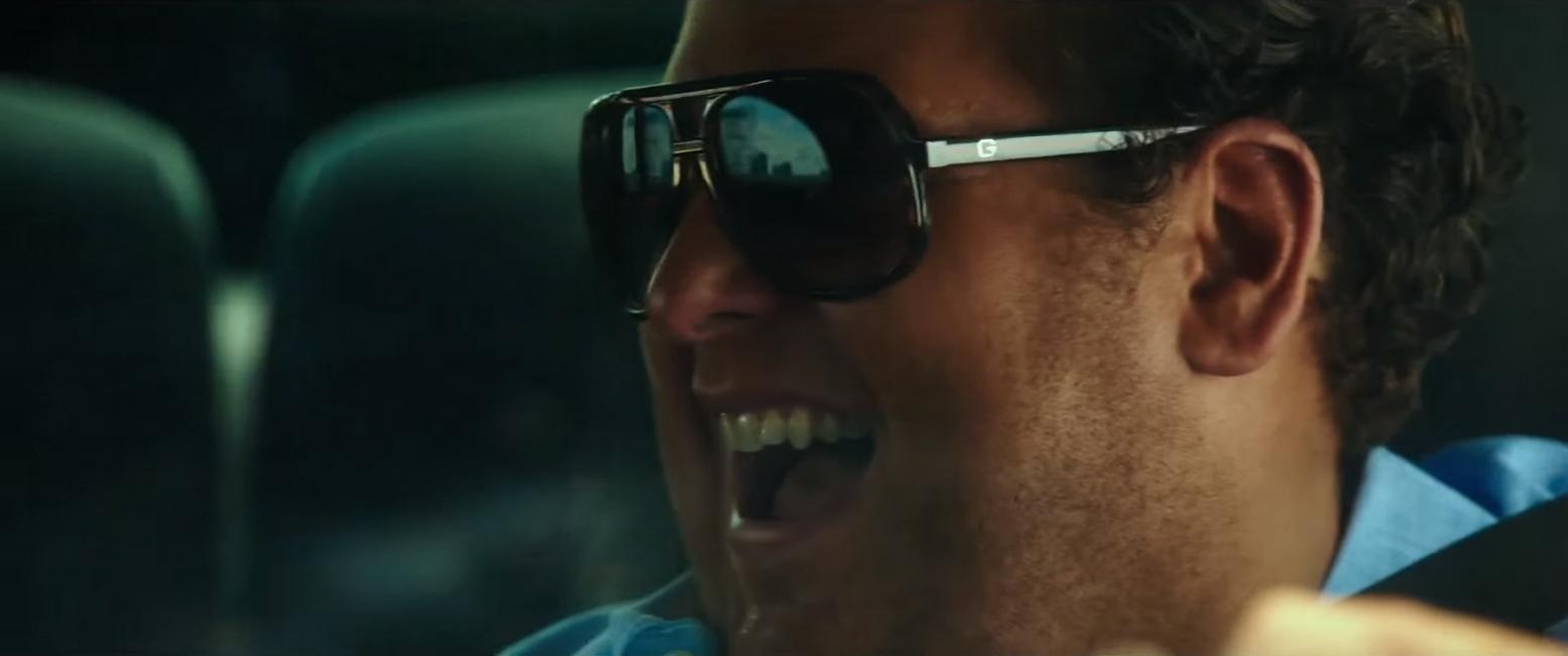Gucci sunglasses in War Dogs