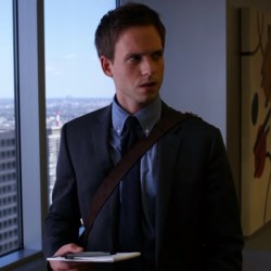Messenger Bag Mike Ross in Suits