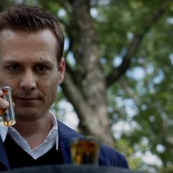 Shot glasses Harvey Specter in Suits