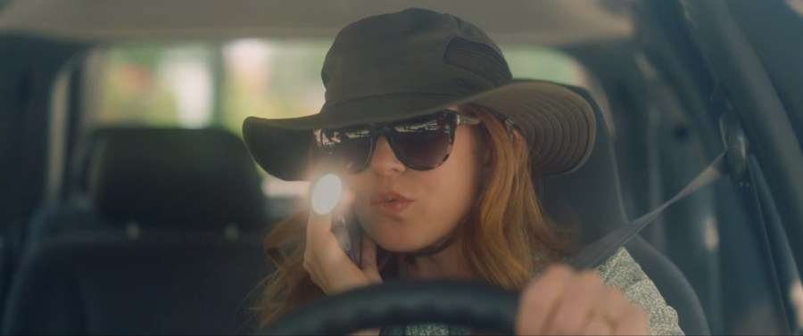 Safari hat Isla Fisher in Keeping up with the Joneses (2016)