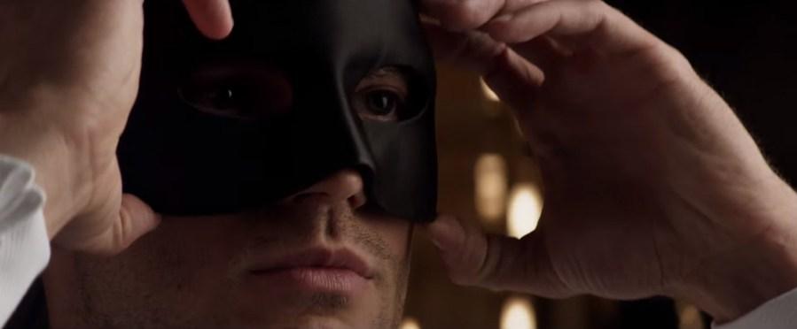 Venetian Mask Jamie Dornan in Fifty Shades Darker (2017)