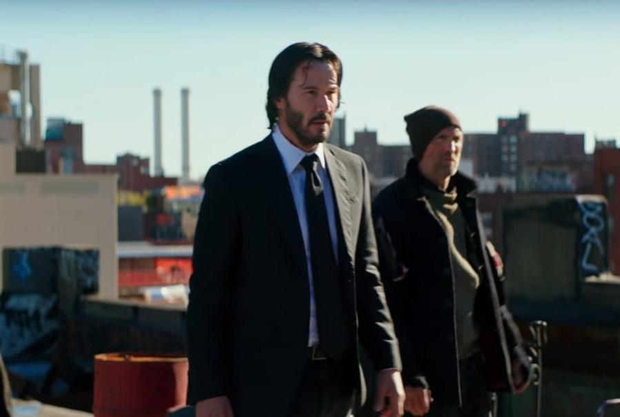 Black Tie Keanu Reeves in John Wick: Chapter 2 (2017)
