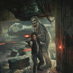 Star Wars Original painting - Han Solo original art