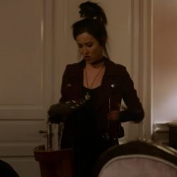 Biker jacket Lyrica Okano (Nico Minoru) in Runaways
