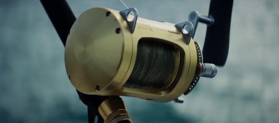Shimano fishing reel in Serenity (2018)