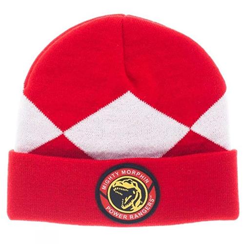 Mighty Morphin Power Rangers Red Ranger Cuff Beanie