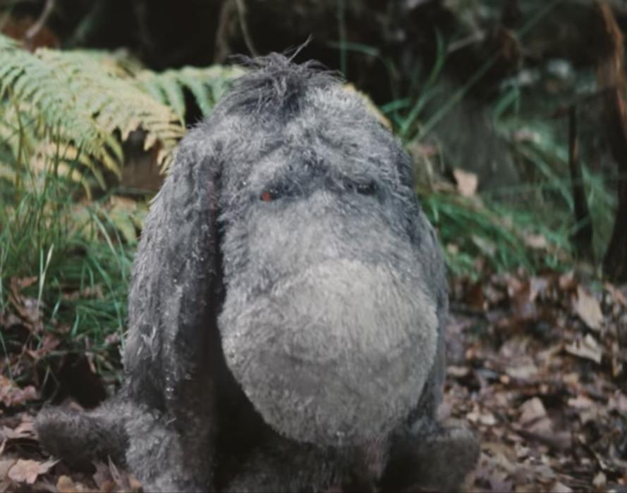 Eeyore Plush in Christopher Robin (2018)