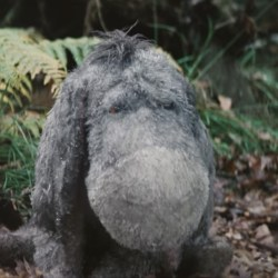 Eeyore Plush in Christopher Robin (2018)