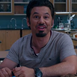 Wristwatch Al Madrigal in Night School (2018)