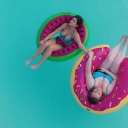 Watermelon Pool Float in Dumplin' (2018)