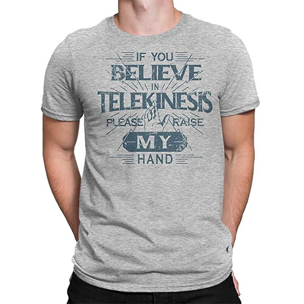 If You Believe in Telekinesis Please Raise My Hand T-Shirt Tom Holland in Spider-Man: Far From Home (2019)
