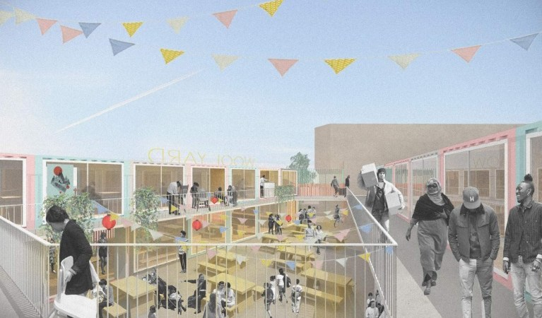 Woolwich Wool Yard market plan hits a hitch