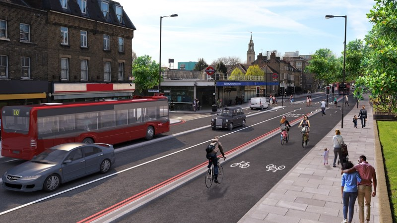 Cycle Superhighway 4 work from Tower Bridge to Greenwich to begin summer 2019