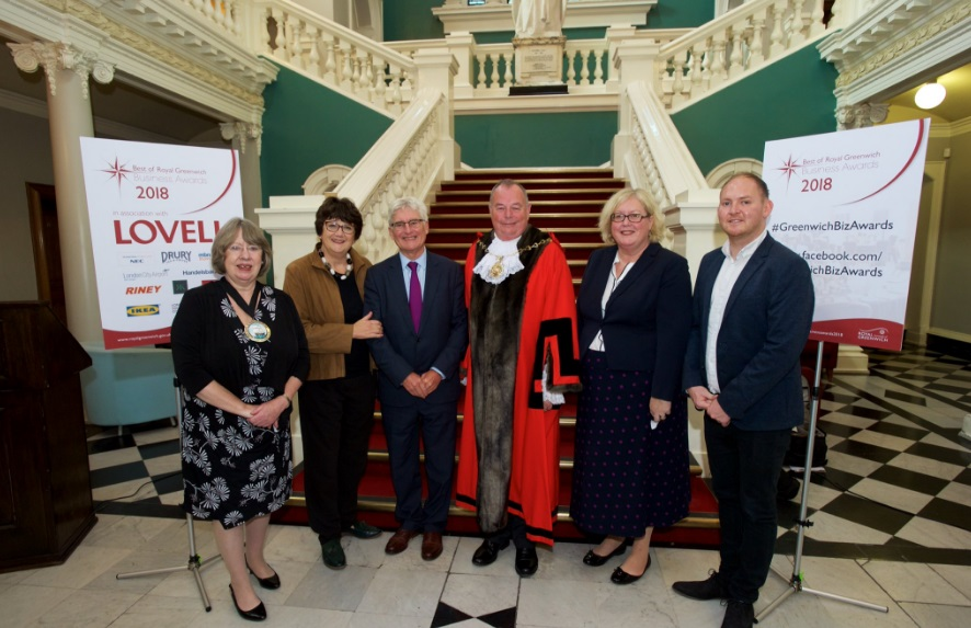 Greenwich Business Awards – worthy winners but curious sponsors