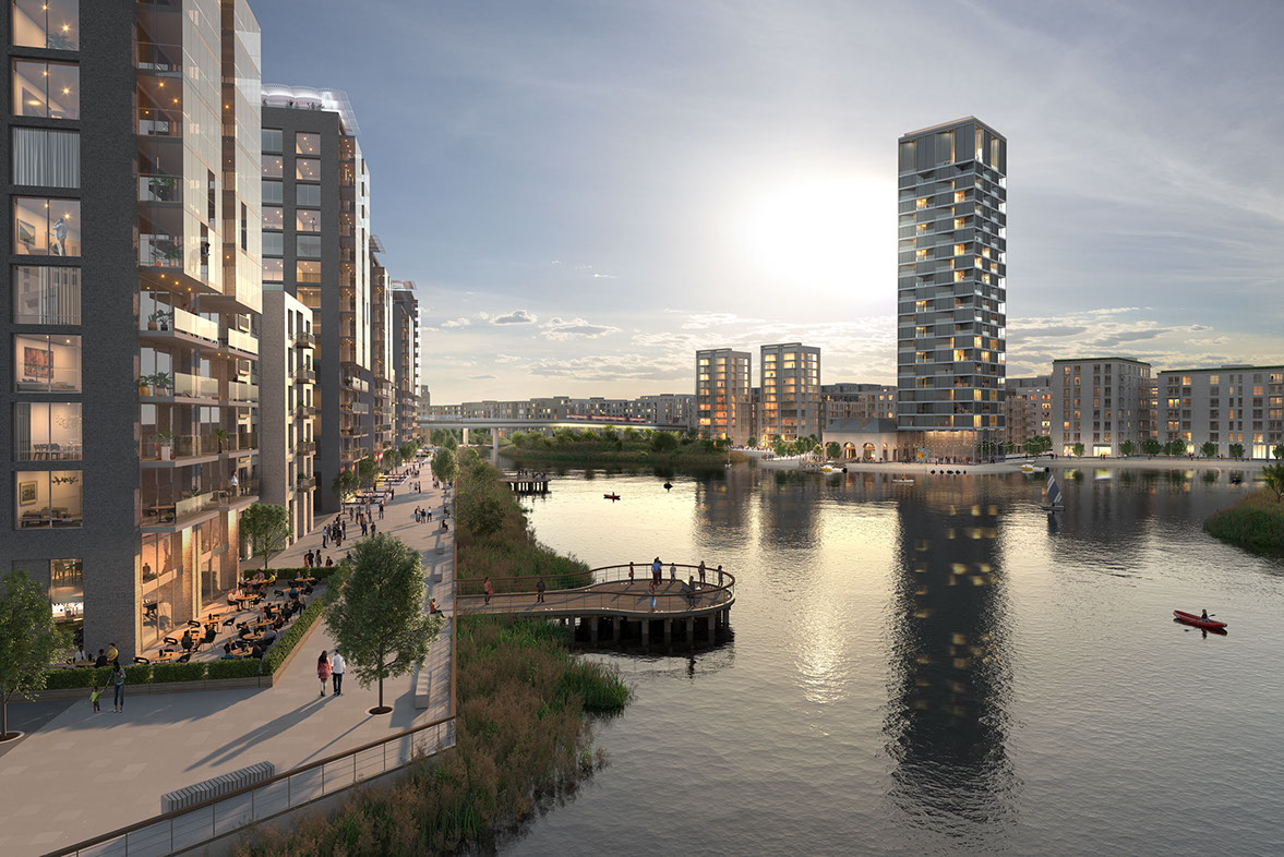 Peabody announce massive Thamesmead scheme (not Greenwich?)