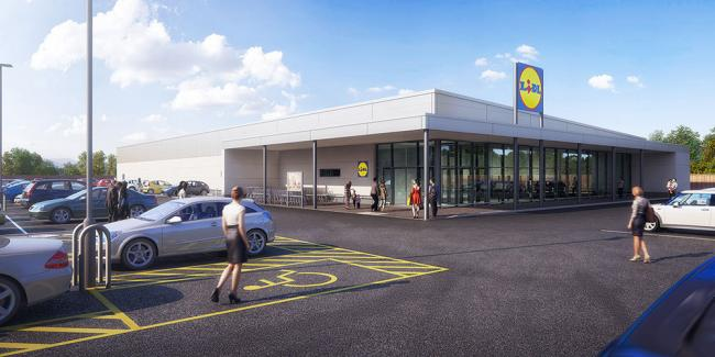 Lidl submit plans for new Erith store