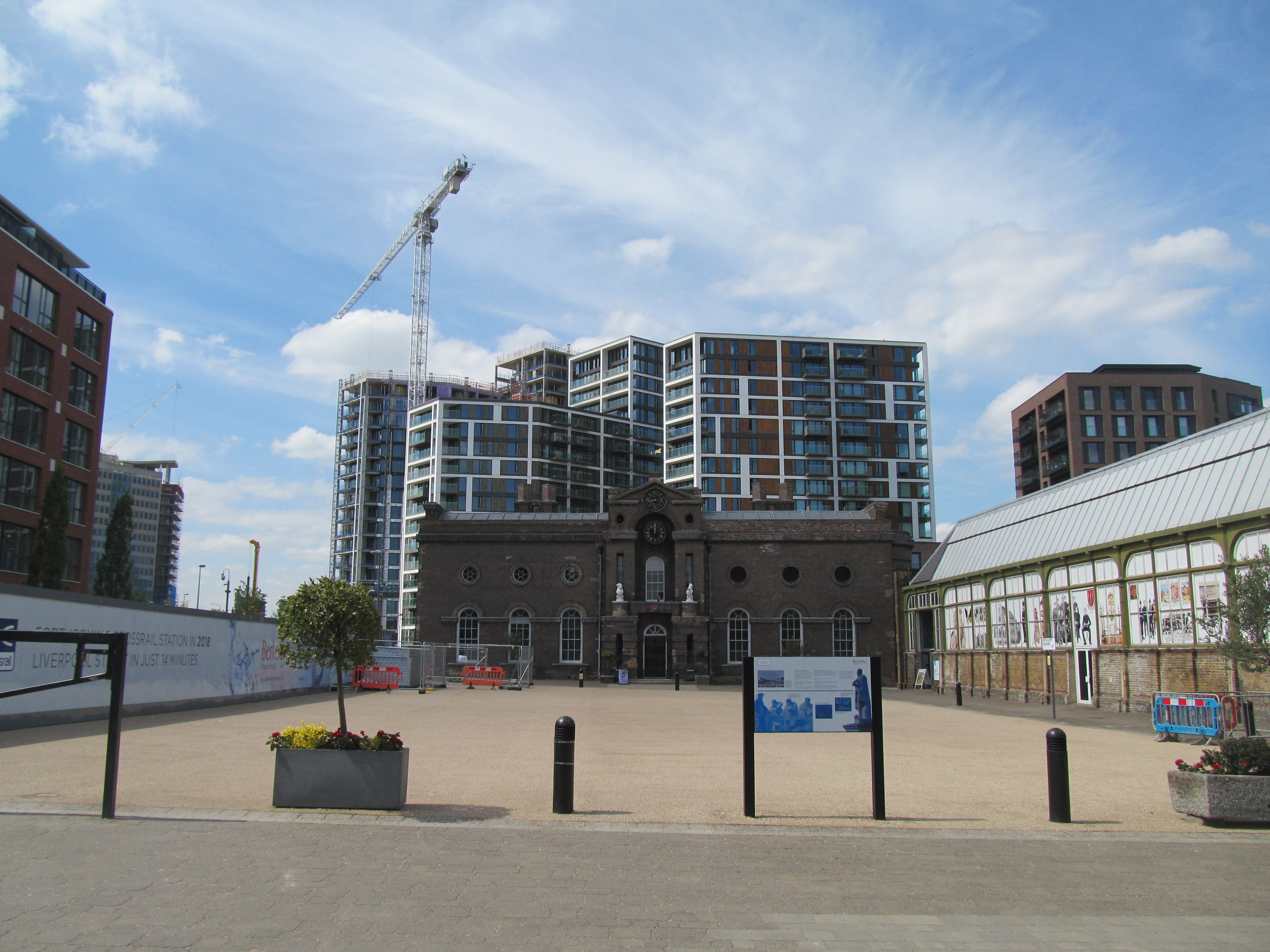 Woolwich riverside towers rise ever more