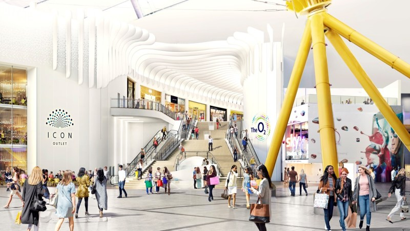 One week until Greenwich's o2 Icon outlet shopping centre opens
