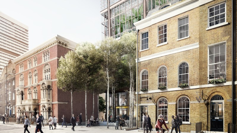 Tower planned by London Bridge station
