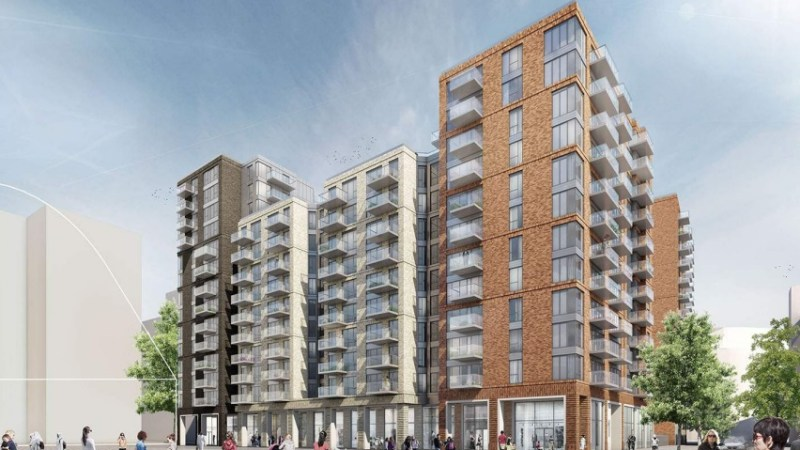 First phase of massive 3500-home Convoys Wharf development in for planning
