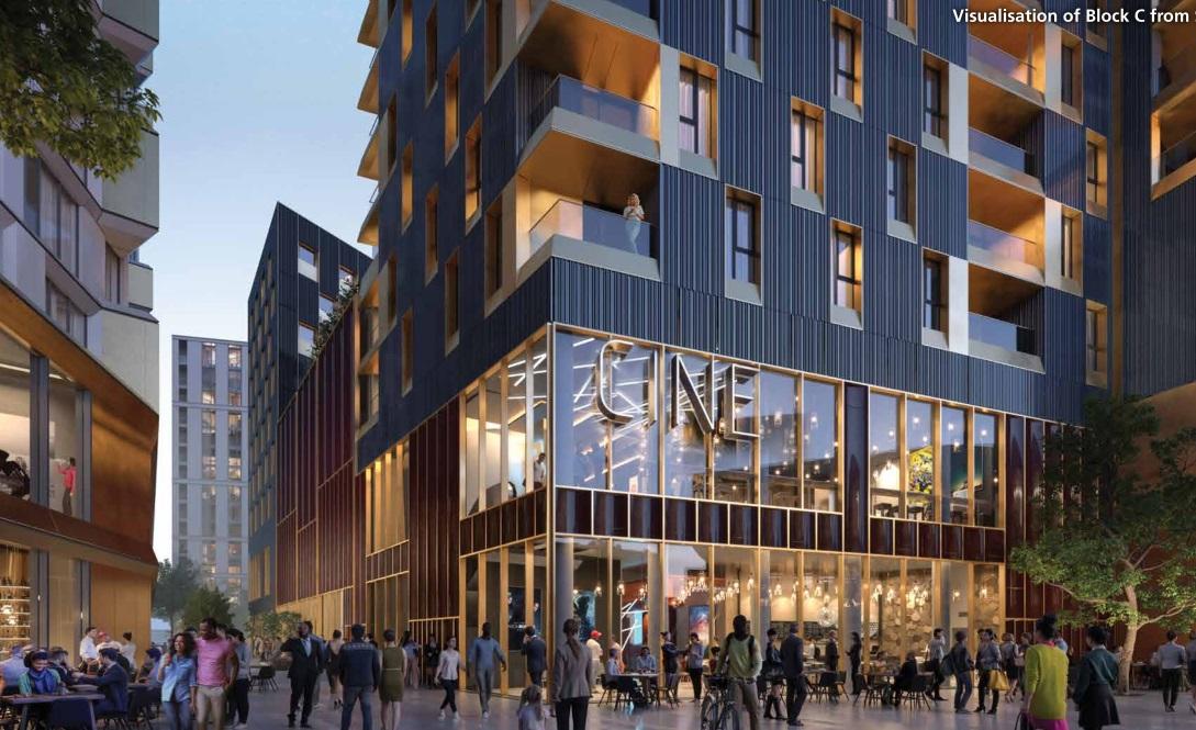 Nine screen cinema coming as part of revised Lewisham Gateway plans