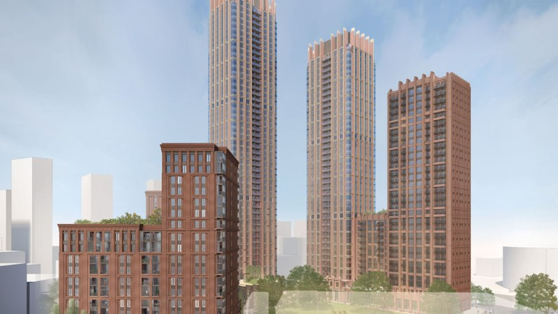 Towers approved at Ruby Triangle on the Old Kent Road – the start of massive change?