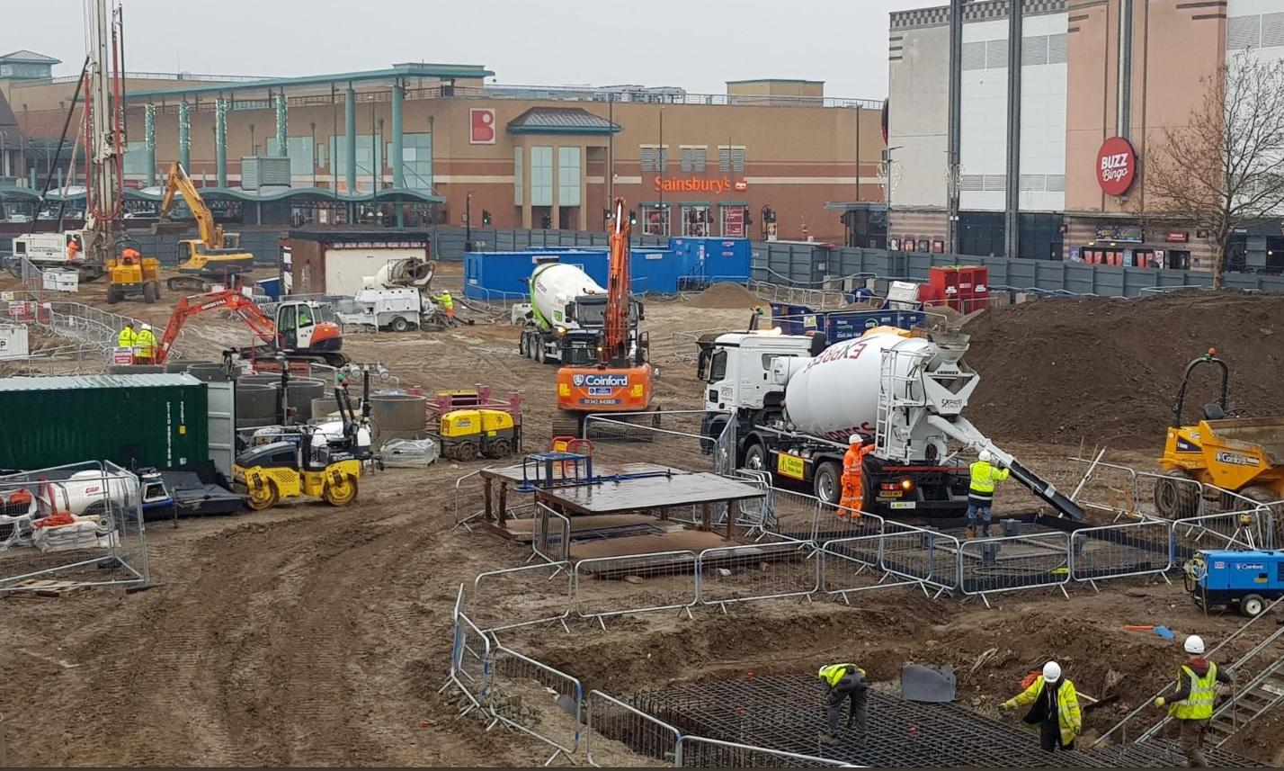 Bexleyheath's 518-flat town centre scheme gets underway