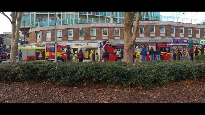Fire Brigade called to flats in Woolwich